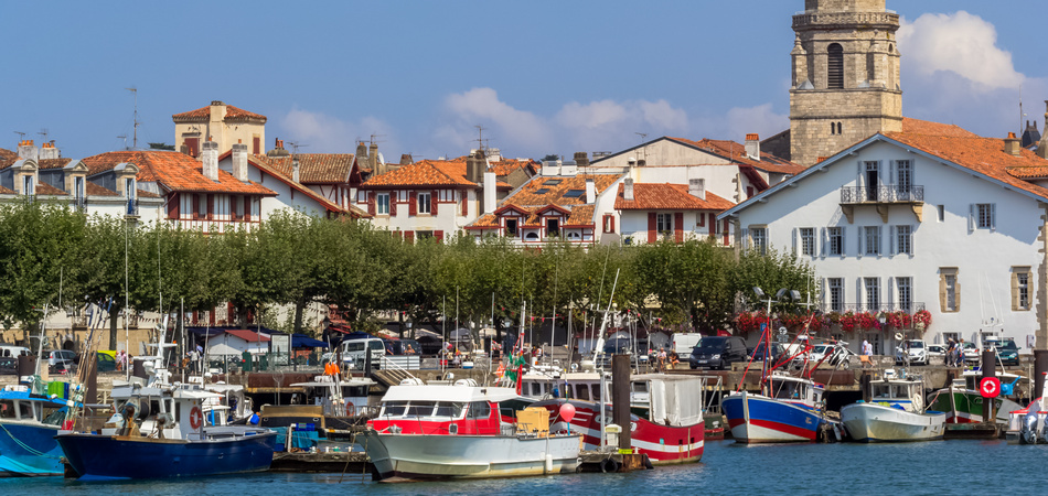 Port de Ciboure, Saint-Jean-de-Luz, France