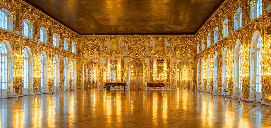 ORSH_Saint-Petersburg, RUSSIA - Jan 19 2012, interior ballroom, Catherine palace, Tsarskoye Selo, Pushkin, on Jan 19, 2012 in Saint-Petersburg, Russia - Imagen_950x450