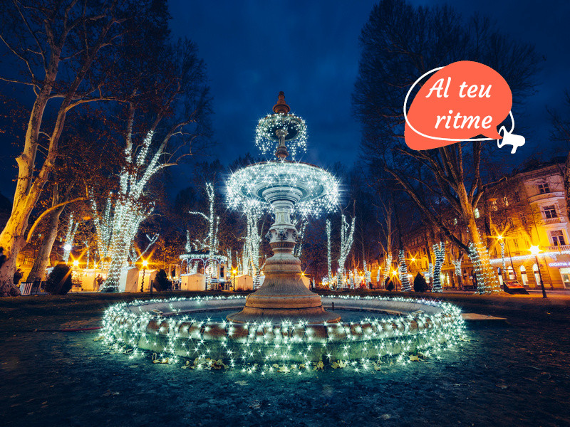 800x600 CAT ORSH_Illuminated fountain on Zrinjevac (Zagreb, Croatia), Christmas m