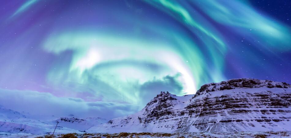 950x450 ORSH_The Northern Light Aurora borealis at