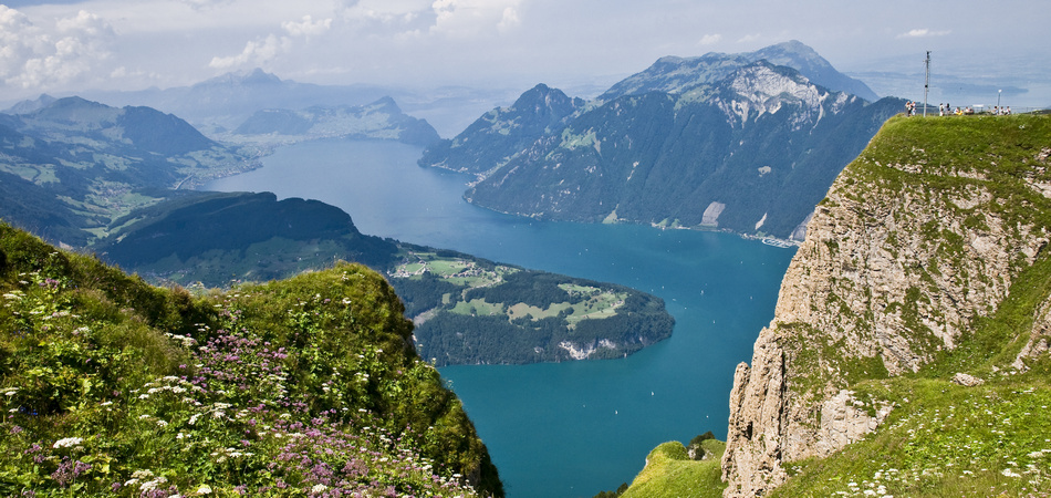 The lake of the four Cantons in Switzerland