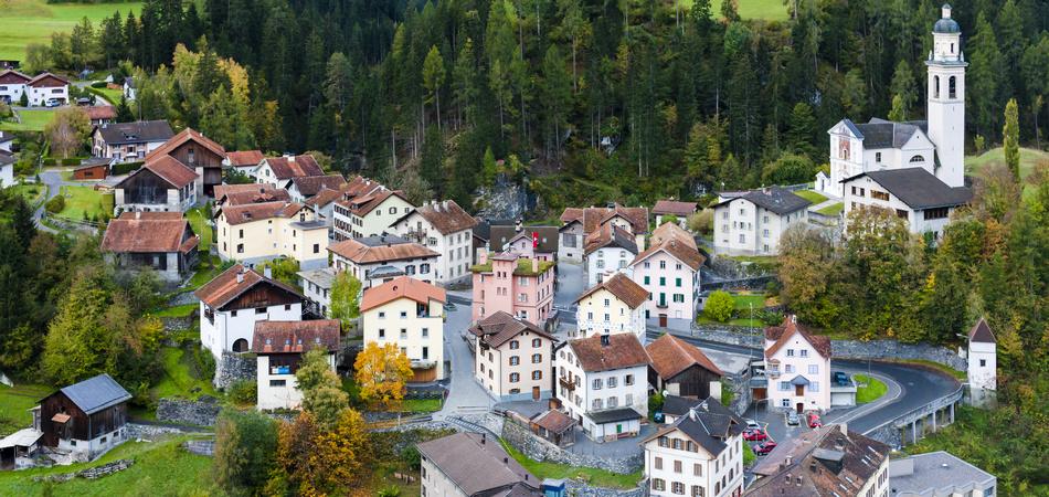 Tiefencastel, canton Graubunden, Switzerland