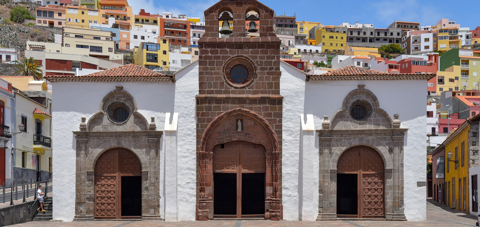 Church of the Assumption in San Sebastian / La Gomera