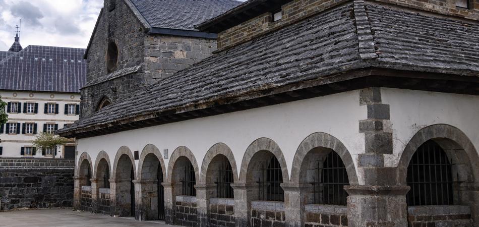 facade in roncesvalles