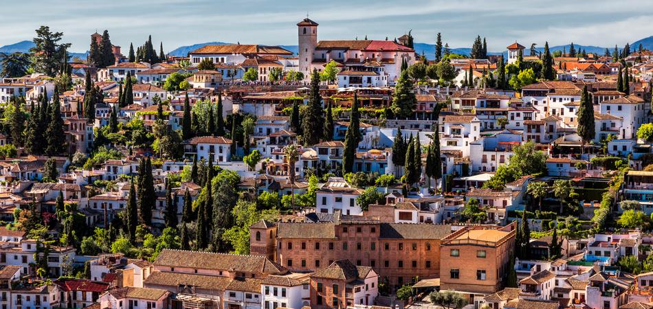 Granada. Spain. Landscape.