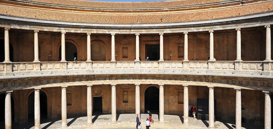 Palacio de Carlos V, Granada, España