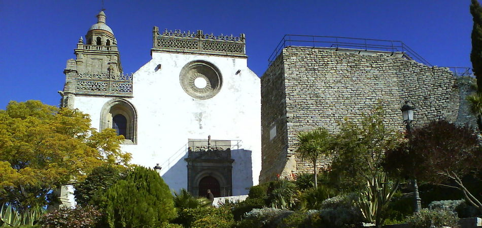 Medina Sidonia IglesiaSantaMaria_frontal