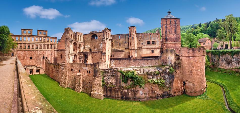 950x450 Ruins of Heidelberg Castle