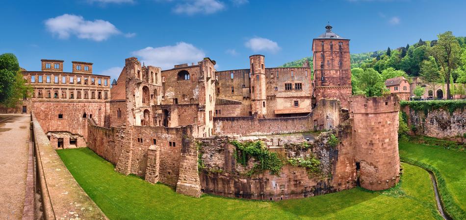 950x450 Ruins of Heidelberg